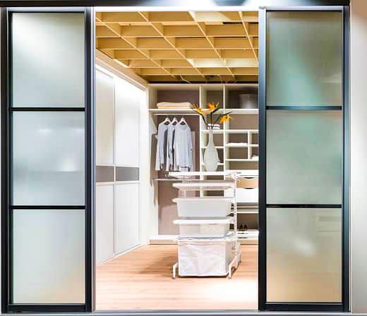 Гардеробные и встроенные шкафы-купе